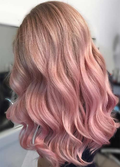 الشعر الزهري الذهبي لإطلالة أنيقة وعصرية لمسات اونلاين