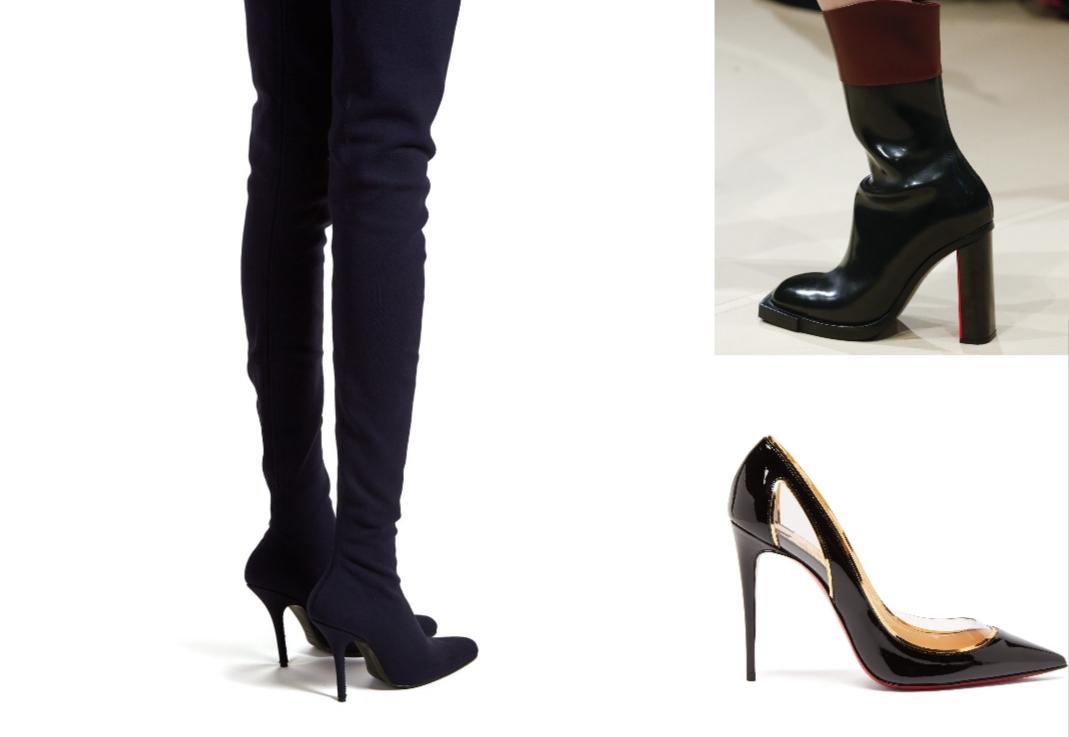 fa475761e إن كنتِ من مواكبات صيحات الموضة، فلا شكّ أنك لاحظت التنوع الكبير للأحذية  المتاح أمامك هذا الشتاء. فالحذاء الذي يتخطّى حدود الركبة يعود من جديد هذا  الموسم ...