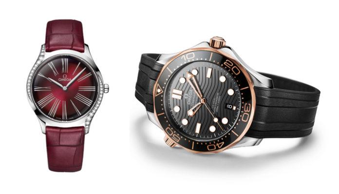 6603fb22c لا شكّ أنّ النسخة الجديدة من ساعة De Ville Trésor تُعدّ واحدة من أجمل  الهدايا التي يمكن تقديمها للمرأة، فقد صنعتها Omega بتصميم يتوافق تماماً مع  باقة الورد ...