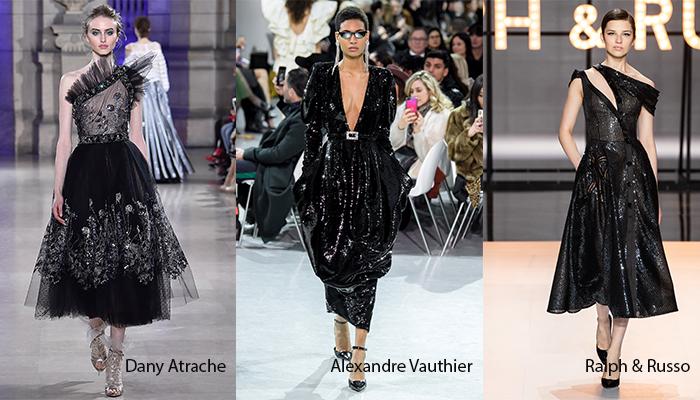 df15d61c1f407 الفساتين السوداء التي قدّمها المصممون للموسم المقبل تميزت بقصات كلاسيكية  تليق بالمرأة الراقية، وهي تنوّعت بين القصيرة والطويلة والضيقة والفضفاضة،  وتزيّنت ...