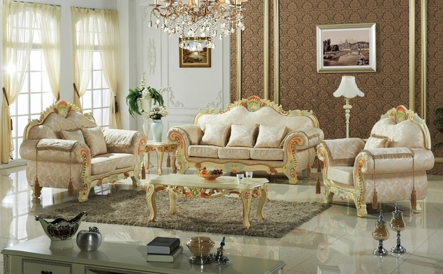 Luxurious Traditional Victorian Formal Living Room Furniture Antique White Carved Wood 19 Lamasat Online